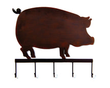 York Wall Decor Pig Rust L51W4,5H44