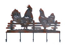 York Wall Decor Chicken Rust L55W4,5H38