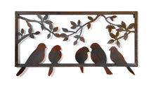 York Wall Decor 5 Birds Rust L56W1,5H30