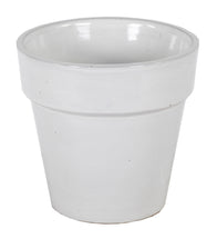 Grace Basic Pot Shiny White D25H25