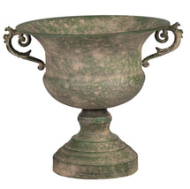 Roman Cup 2 Ears Old Green D29H26