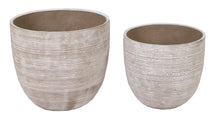 Ciao Lines Egg Pot Grey S2 D26/32H24/29