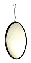 Eton Mirror Round Chain Black D22H58