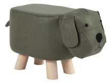 Animal Stool Dog Dark Green L50W28H24