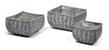Basket Belly Square Grey S3 W19/30H15/17