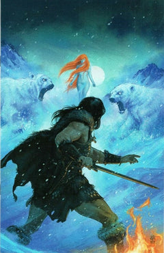 THE CIMMERIAN: THE FROST GIANT'S DAUGHTER #3 KELLY VIRGIN VARIANT (LTD 1:10)