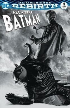 ALL-STAR BATMAN #1 AOD COLLECTIBLES B&W EXCLUSIVE (LTD TO 1500)