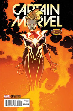 CAPTAIN MARVEL (2016) #5 AGE OF APOCALYPSE VARIANT