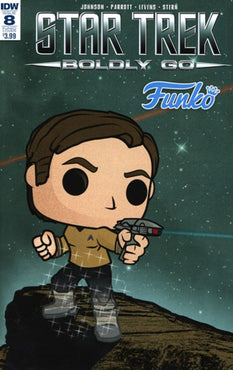 STAR TREK: BOLDLY GO #8 FUNKO COVER