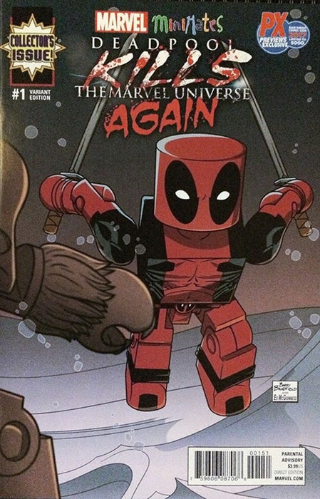 DEADPOOL KILLS THE MARVEL UNIVERSE AGAIN #1 SDCC 2017 PX PREVIEWS EXCLUSIVE (LTD TO 5000)