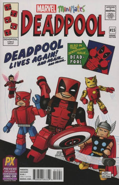 DEADPOOL (2016) #15 SDCC 2016 PREVIEWS MINIMATES EXCLUSIVE