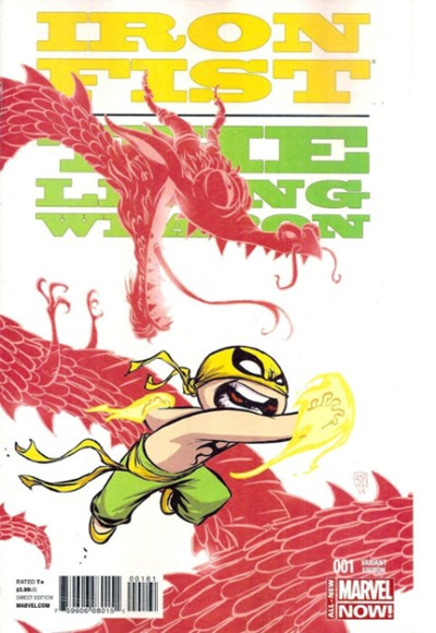 IRON FIST: THE LIVING WEAPON #1 SKOTTIE YOUNG VARIANT