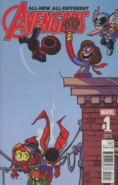 ALL-NEW ALL-DIFFERENT AVENGERS #1 SKOTTIE YOUNG VARIANT