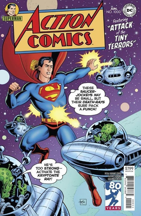 ACTION COMICS #1000 1950S VARIANT