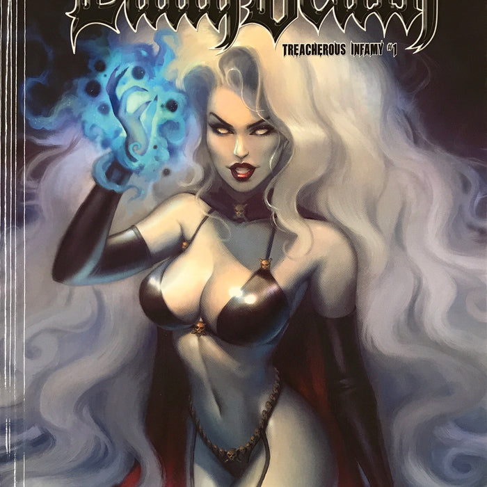 LADY DEATH: TREACHEROUS INFAMY #1 HC EDITION