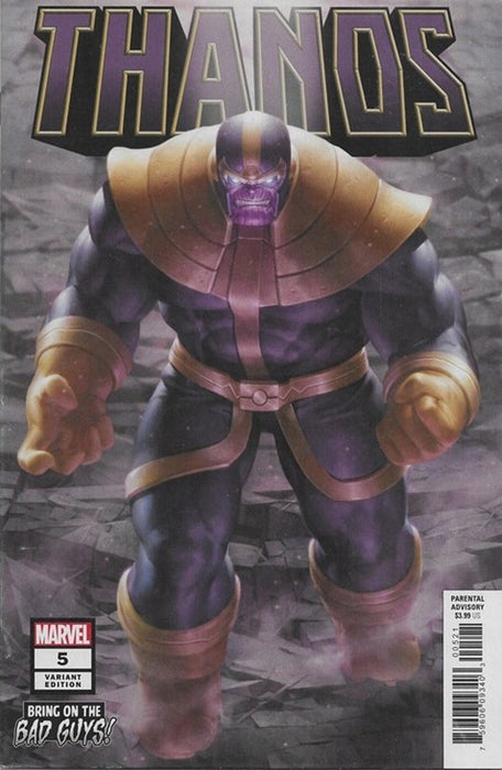 THANOS #5 BRING ON THE BAD GUYS! VARIANT