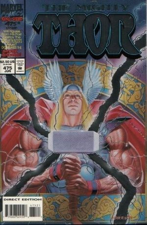 MIGHTY THOR #475 ENHANCED (DIRECT EDITION)