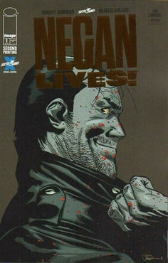 NEGAN LIVES #1 BRONZE FOIL 2ND PRINT