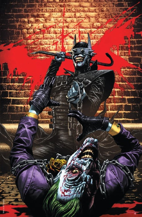 THE BATMAN WHO LAUGHS #2 UNKNOWN COMICS EXCLUSIVE VIRGIN