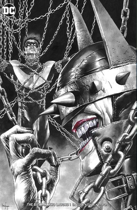 THE BATMAN WHO LAUGHS #1 UNKNOWN COMICS EXCLUSIVE CVR B MINIMAL
