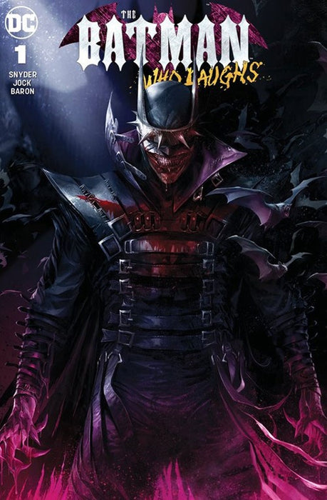THE BATMAN WHO LAUGHS #1 FRANKIE'S COMICS EXCLUSIVE (LTD TO 3000)