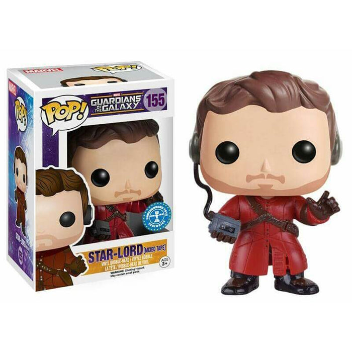 Funko POP! Marvel Guardians of the Galaxy Star Lord (Mixed Tape) Exclusive Vinyl Figure