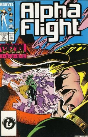 ALPHA FLIGHT (1983) #50 (DIRECT EDITION)