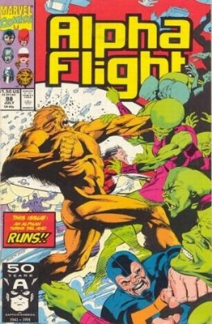 ALPHA FLIGHT (1983) #98