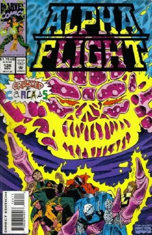 ALPHA FLIGHT (1983) #126