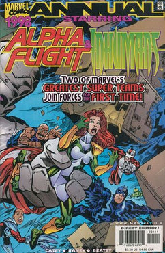 ALPHA FLIGHT (1997) ANNUAL 1998
