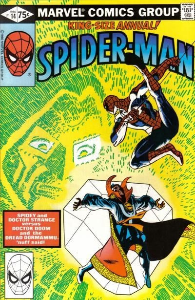 AMAZING SPIDER-MAN ANNUAL #14 (DIRECT EDITION)