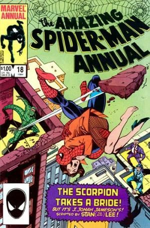 AMAZING SPIDER-MAN ANNUAL #18 (DIRECT EDITION)