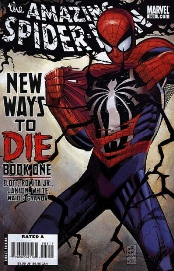 AMAZING SPIDER-MAN #568
