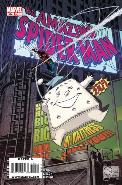 AMAZING SPIDER-MAN #594