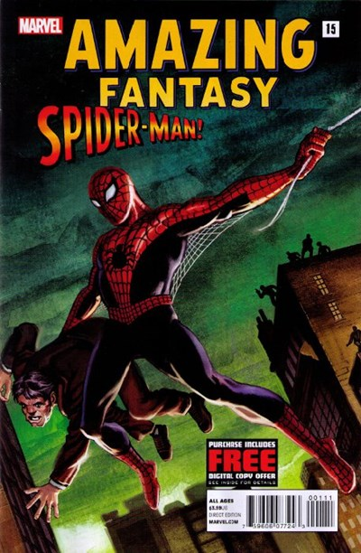 AMAZING FANTASY #15 SPIDER-MAN! #1