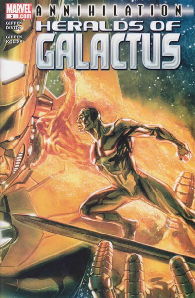 ANNIHILATION HERALDS OF GALACTUS #2