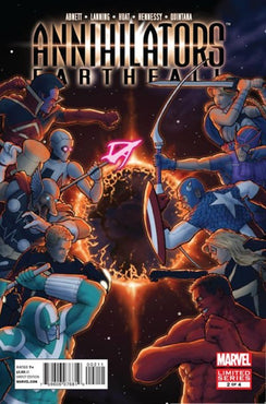 ANNIHILATION EARTHFALL #2
