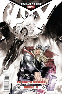 AVENGERS VS. X-MEN #6 OLIVER COIPEL AVENGERS TEAM VARIANT