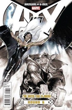 AVENGERS VS. X-MEN #6 OLIVER COIPEL X-MEN TEAM VARIANT