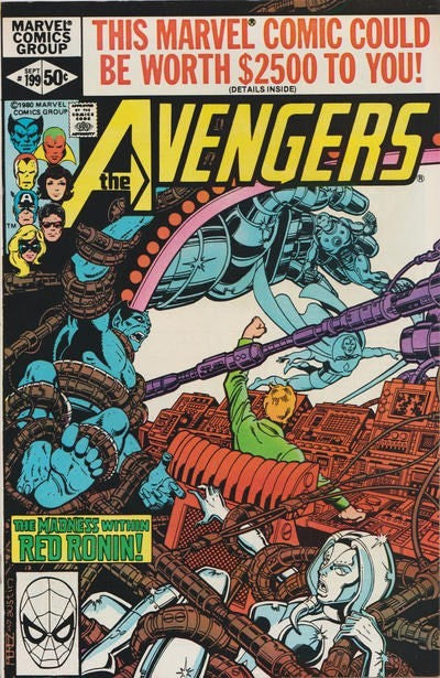 AVENGERS #199 (DIRECT EDITION)