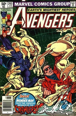 AVENGERS #203 (NEWSSTAND EDITION)