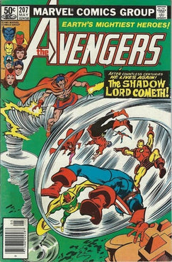 AVENGERS #207 (NEWSSTAND EDITION)