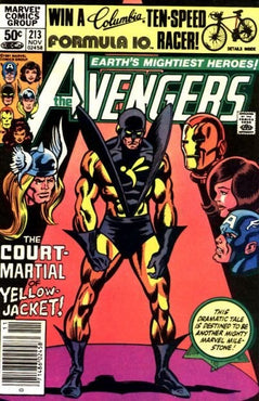 AVENGERS #213 (NEWSSTAND EDITION)