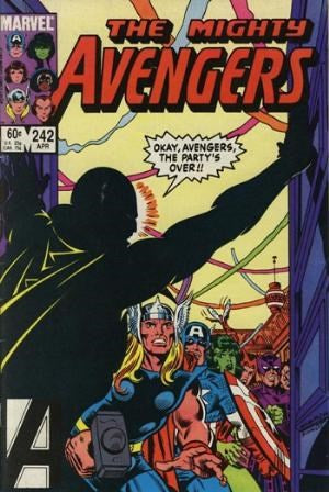 AVENGERS #242 (DIRECT EDITION)