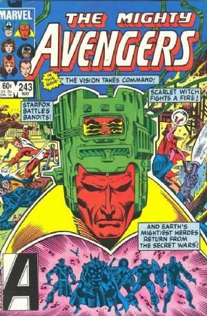 AVENGERS #243 (DIRECT EDITION)