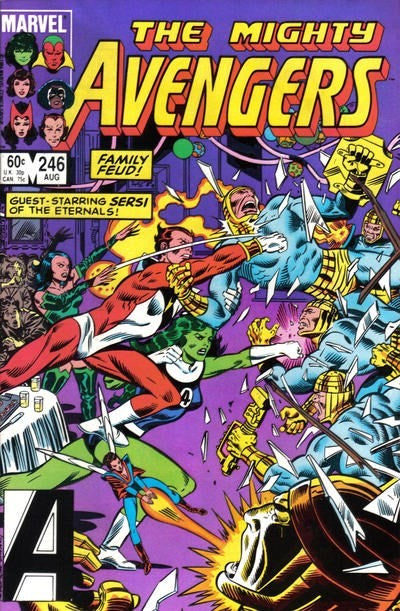 AVENGERS #246 (DIRECT EDITION)