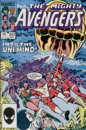 AVENGERS #247 (DIRECT EDITION)