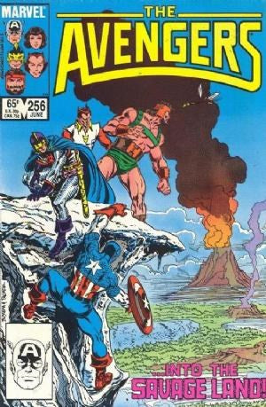 AVENGERS #256 (DIRECT EDITION)