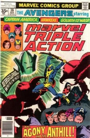 MARVEL TRIPLE ACTION #38