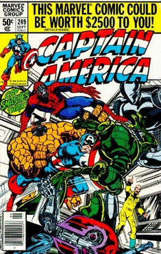 CAPTAIN AMERICA #249 (NEWSSTAND EDITION)